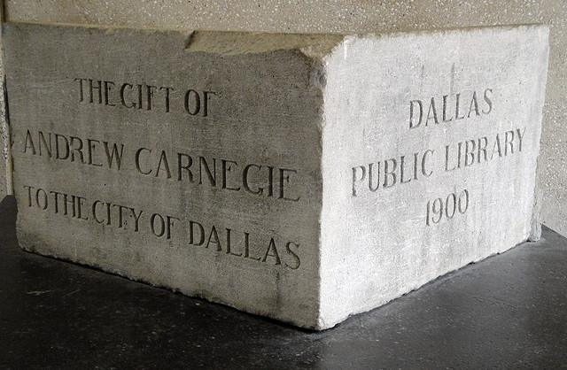Carnegie Library Cornerstone