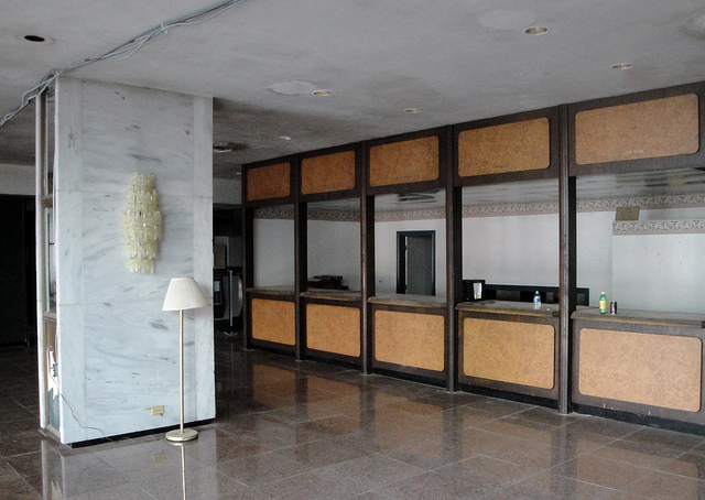 Statler Hilton Front Desk in 2011