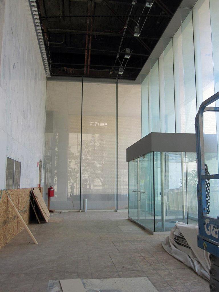 Lobby construction