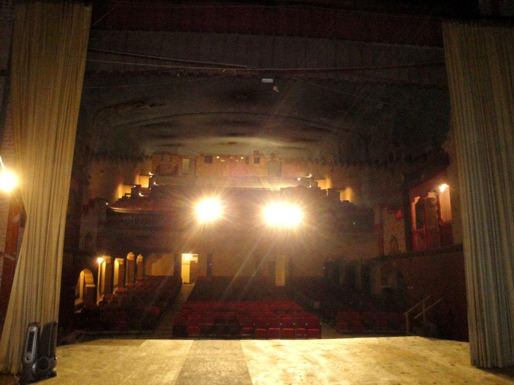 View of Ritz Theatre from stage