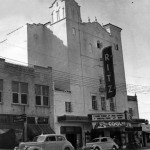 Outside of Ritz Theater (historic photo)