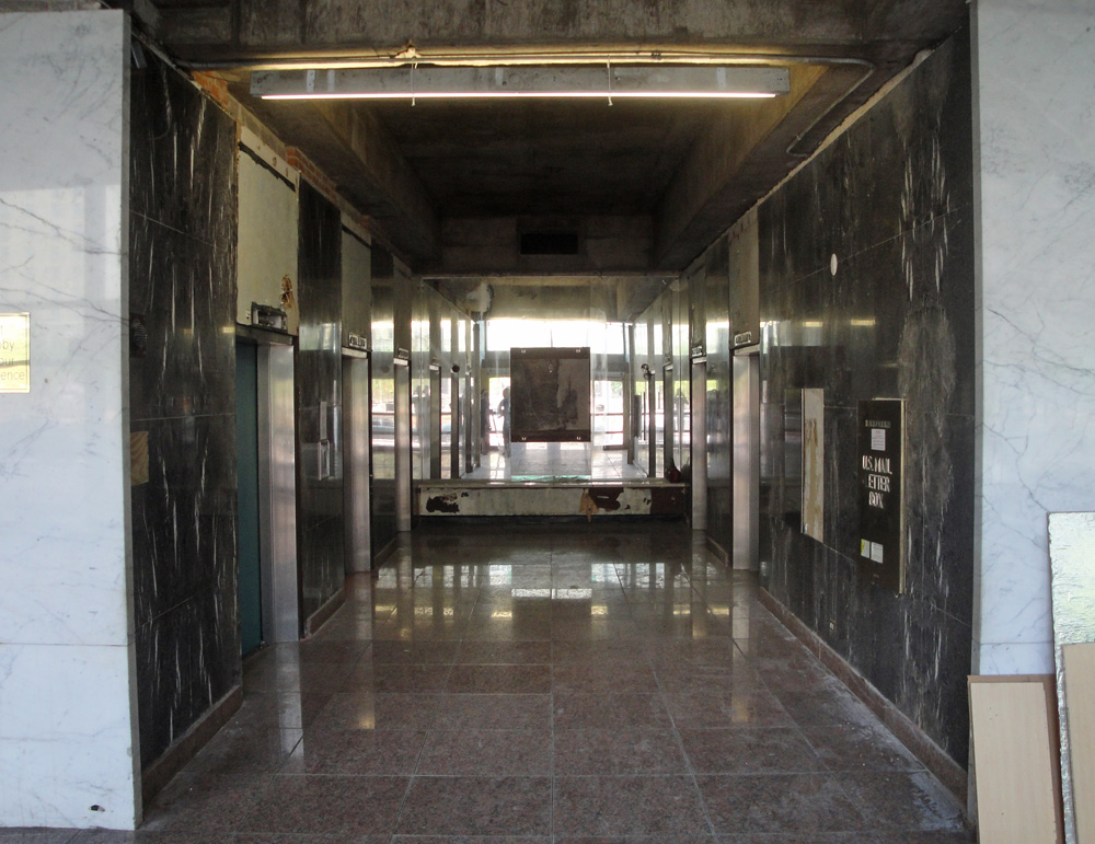 Elevator lobby