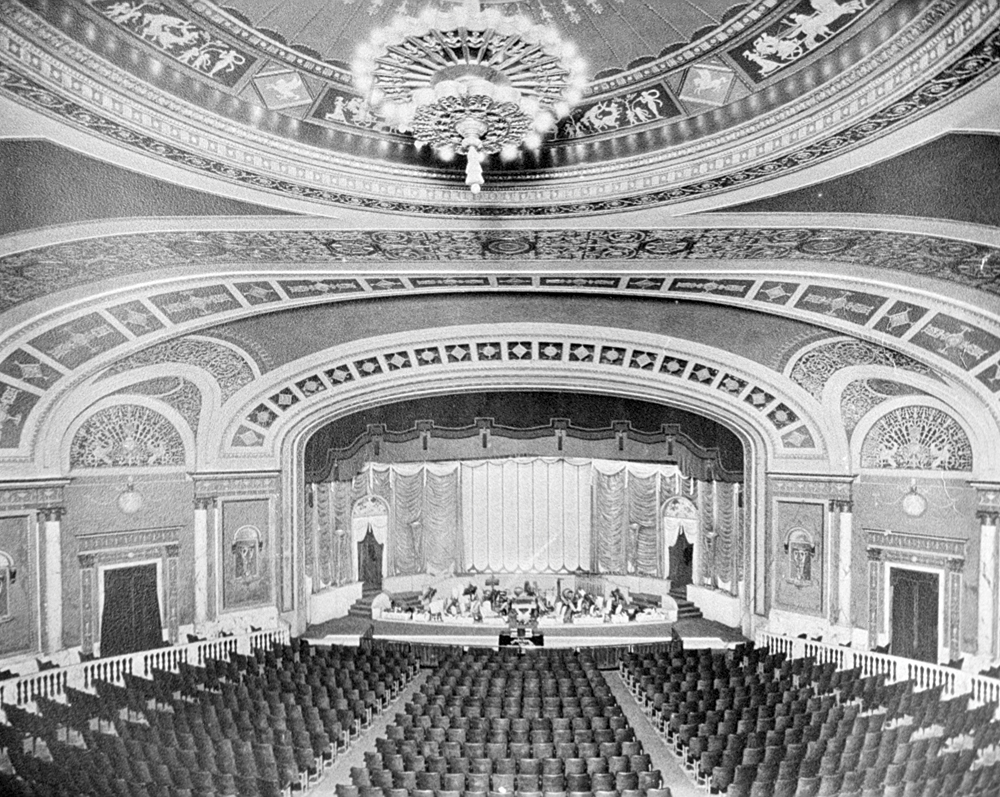 Inside of Palace Theater