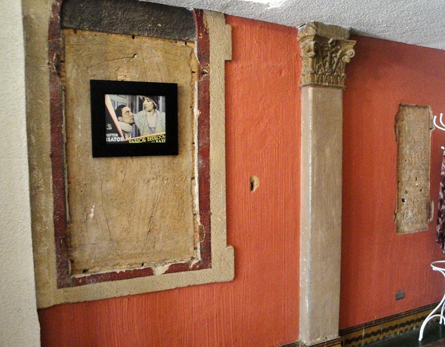 Original wall scheme