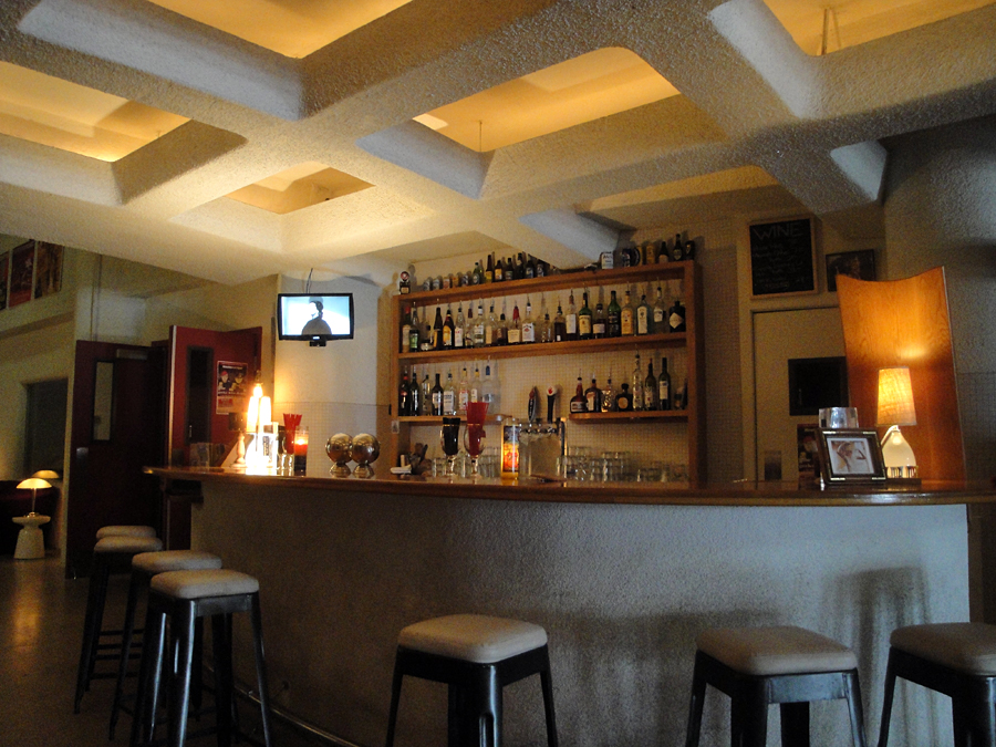 View of bar