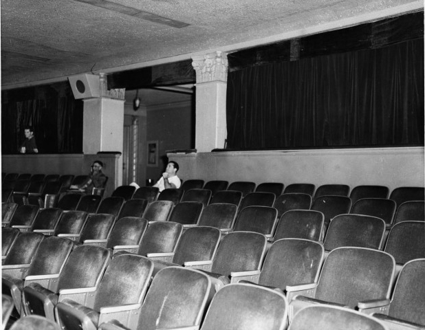 Historic photo of auditorium