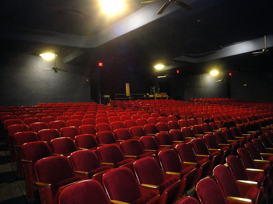 View of auditorium seats