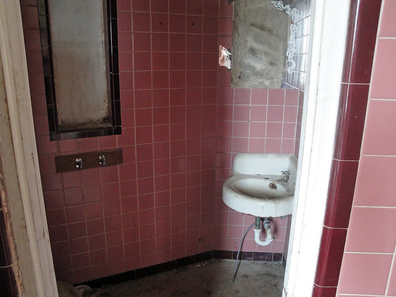 View of interior bathroom