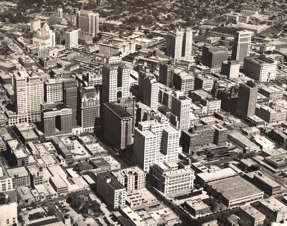 Dallas Skyline, 1931 vs. 1951