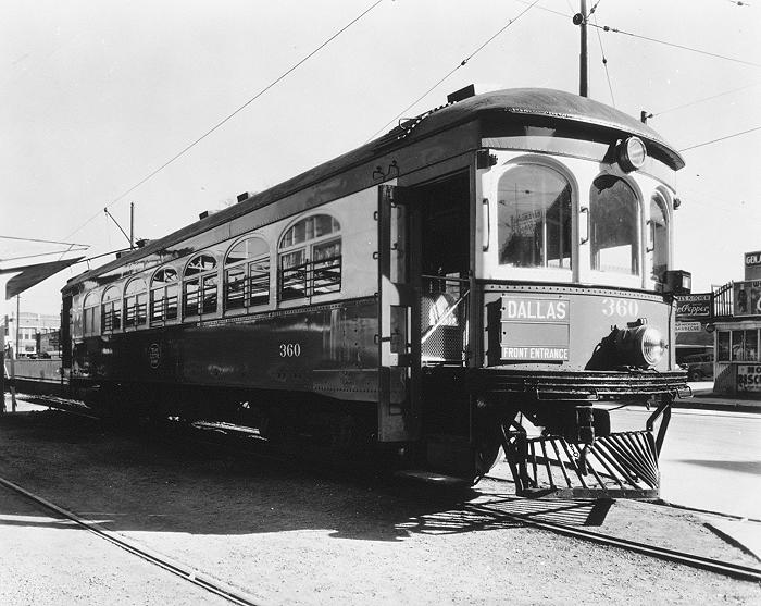 Historic photo of interurban