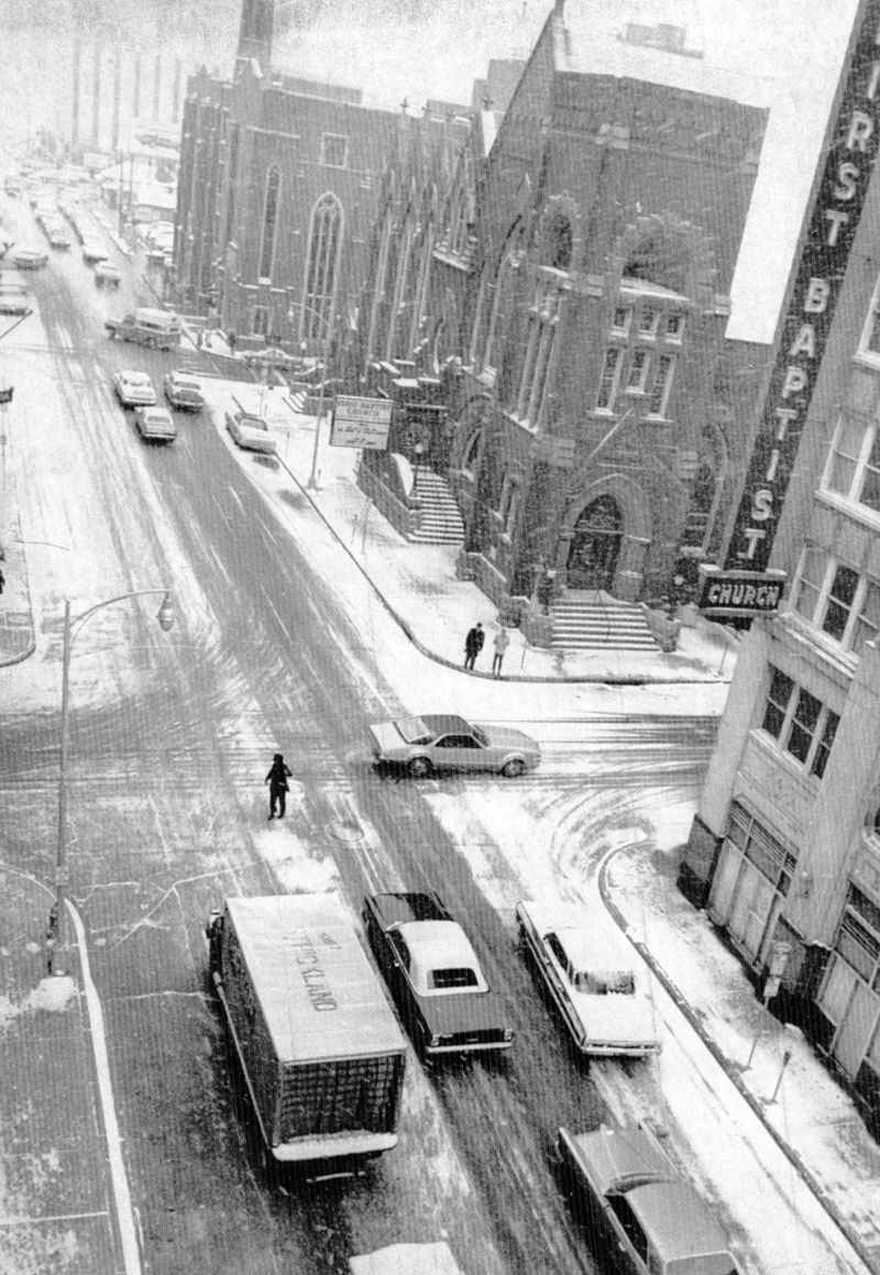 Winter Snow 1968