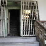 Stairs and jail door