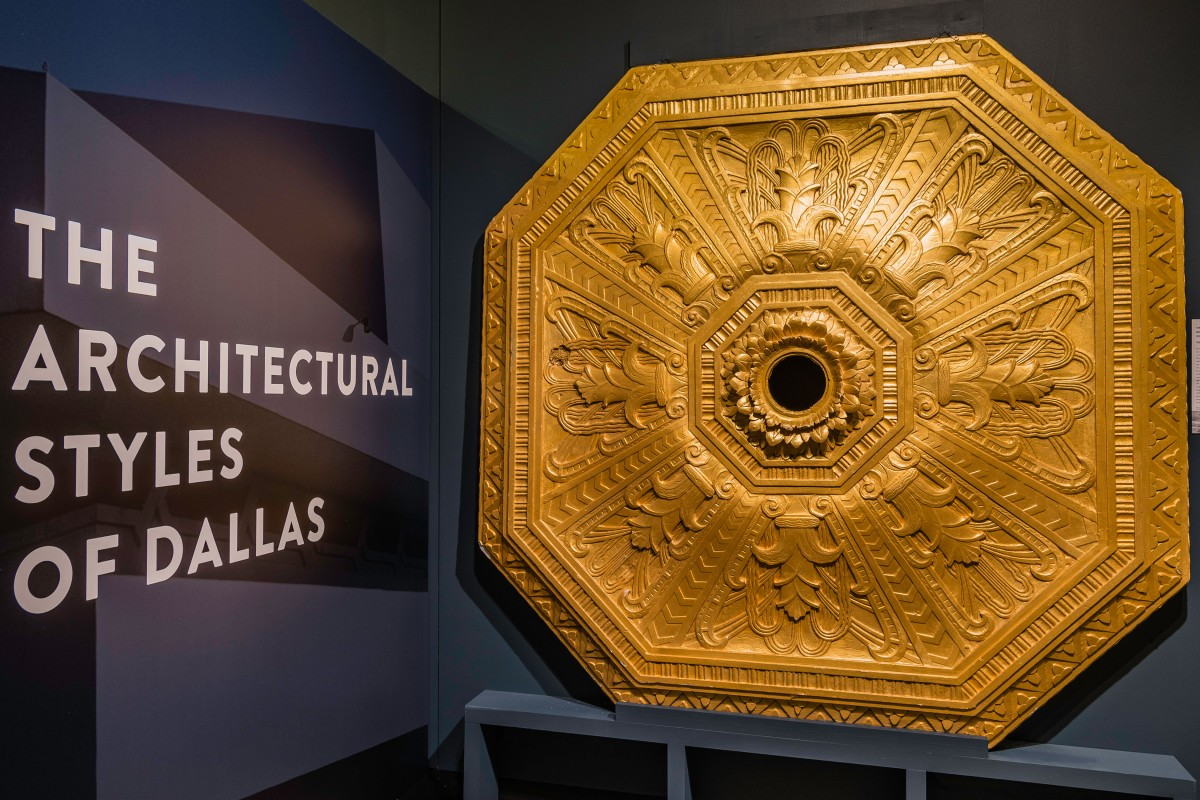 Architectural Styles of Dallas Exhibition