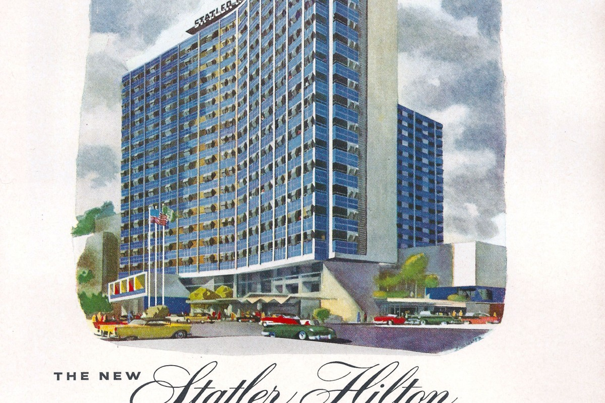 The Statler Hilton Hotel, in Sketches